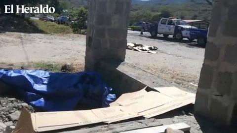 Acribillan a dos personas en kilómetro 22 salida hacia Olancho