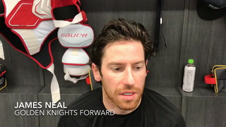 James Neal would be honored to represent Golden Knights in NHL All-Star Game