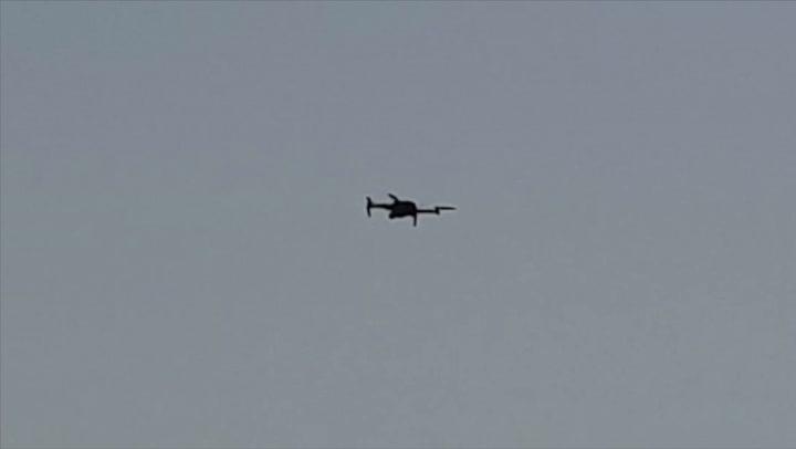 El Atlético estrena un dron para grabar los entrenamientos