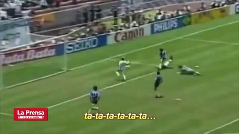 Maradona: El mejor gol del siglo relatado por Victor Hugo Morales