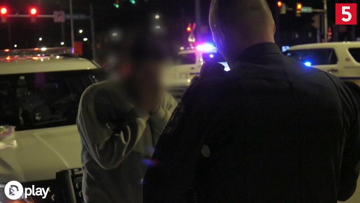 Wow: Her anholdes voldsomt påvirket narkobillist