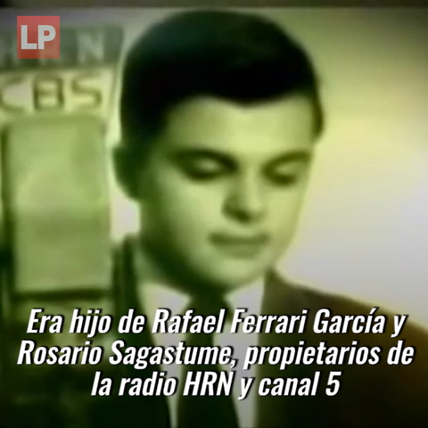 Fallece Rafael Ferrari, reconocido empresario hondureño de las comunicaciones