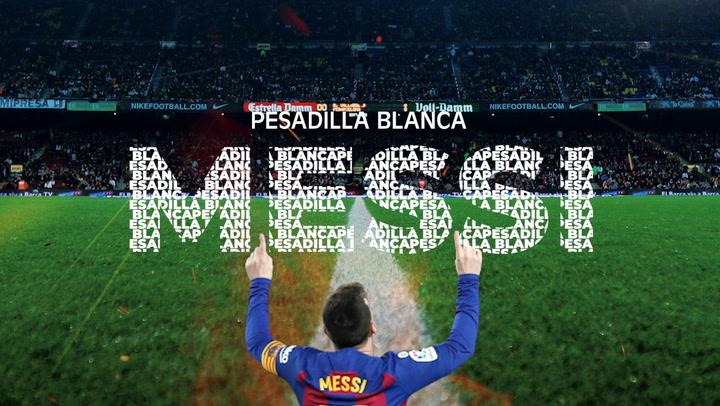 Messi, pesadilla blanca