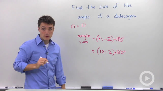 Polygon Angle Sum - Problem 1