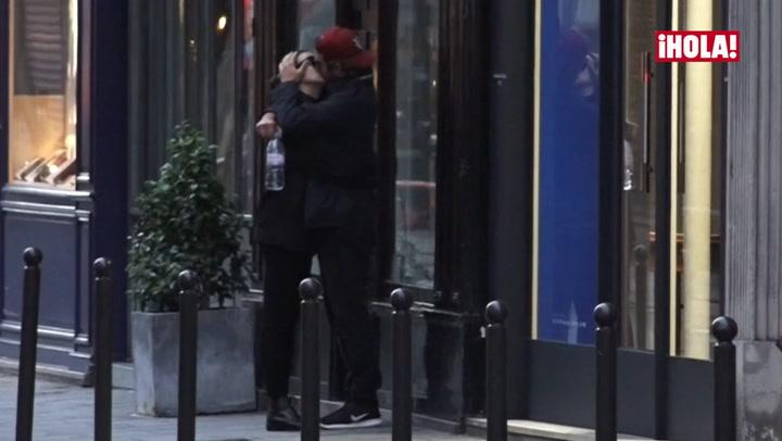 Irina Shayk y Bradley Cooper suben la temperatura en París