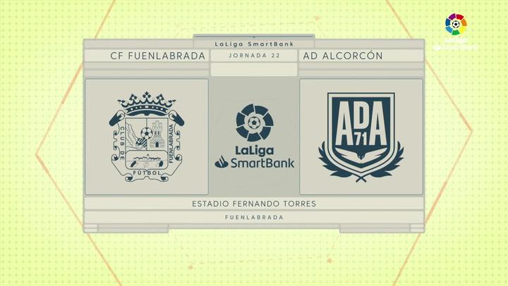 LaLiga SmartBank (J22): Resumen del Fuenlabrada 0-0 Alcorcón