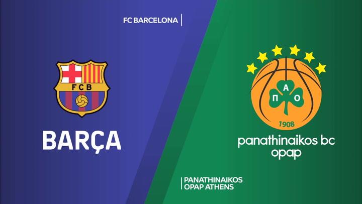 Euroliga: FC Barcelona - Panathinaikos OPAP