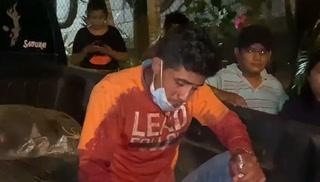 Relato del conductor del pick-up que cayó en hondonada en El Merendón
