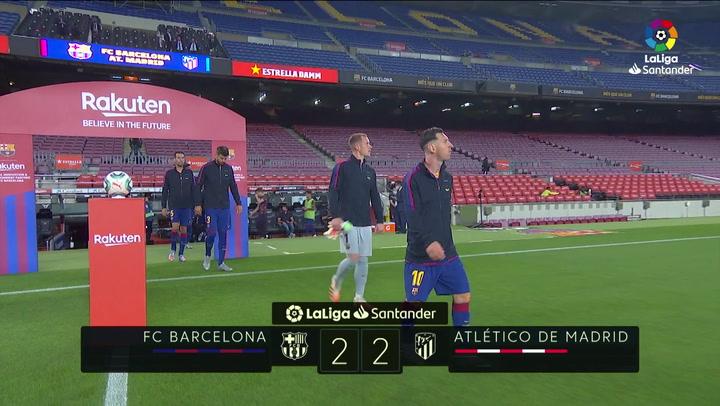 LaLiga Santander (J.33): Barcelona 2-2 Atlético de Madrid