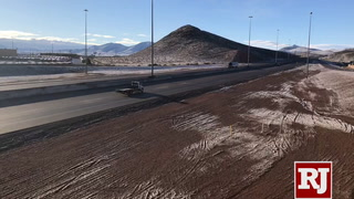 Ice on roadway shuts down I-15 south of Las Vegas