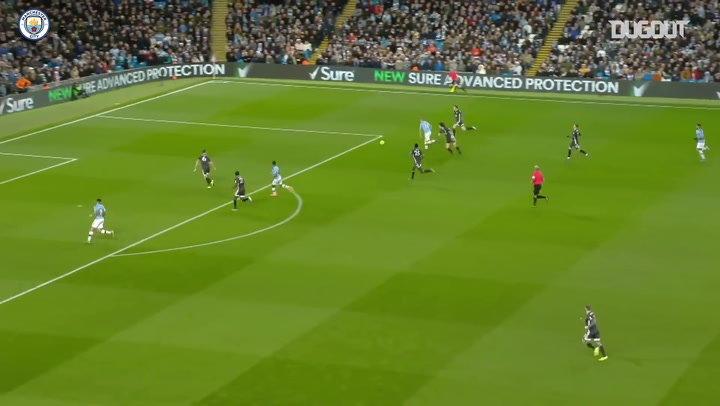 De Bruyne's weaving run and pass sets up Jesus to round off Leicester