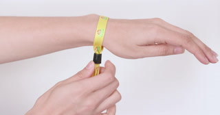 "1/2"" Dye-Sublimated Wristband With Locking Slider"