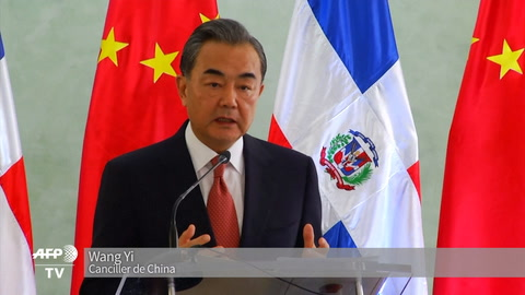 China inaugura embajada en República Dominicana