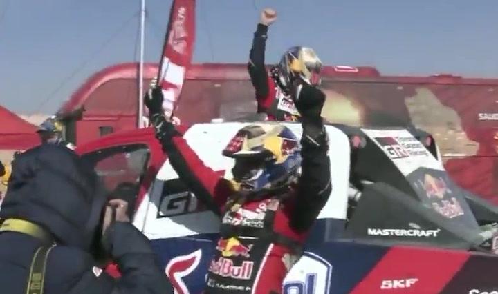 Así fue la última etapa del Dakar para Alonso