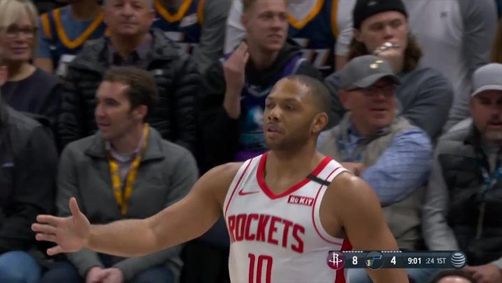 Eric Gordon jugador destacado de la jornada de la NBA (27/01/2020)
