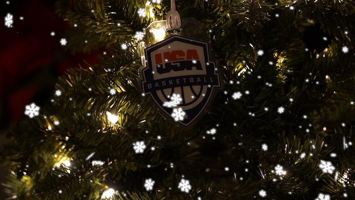 Happy Holidays From USA Basketball