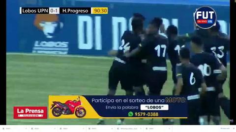 El Honduras Progreso logra su primer triunfo del Apertura 2020 a costas de la UPN