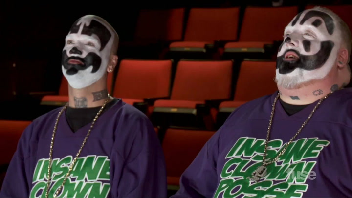 "Shows: ICP Theater: Insane Clown Posse Take On Macklemore's ""Can't Hold Us"""