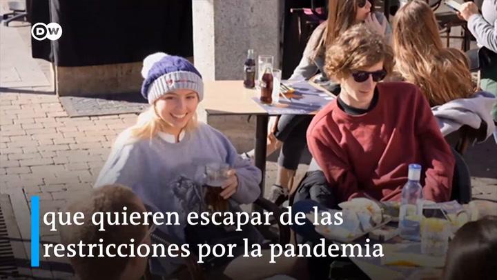 Madrid se convierte en lugar preferido para jóvenes turistas