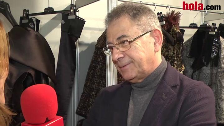 Roberto Verino: 'Es una colección con la sencillez como bandera y la elegancia como objetivo'