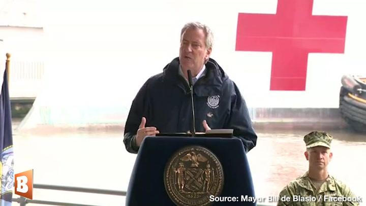 NYC Mayor Bill de Blasio Thanks Trump for Coronavirus Relief