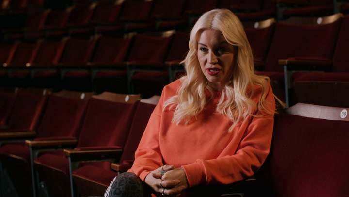 Behind the scenes of Denise van Outen\'s new musical performance