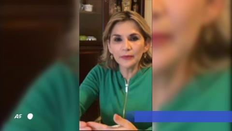 Presidenta de Bolivia dio positivo a coronavirus