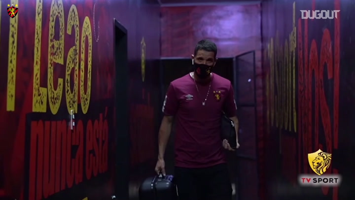 Behind the scenes of Sport Recife victory over Corinthians