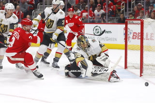Golden Edge: Knights Shutout Red Wings 4-0