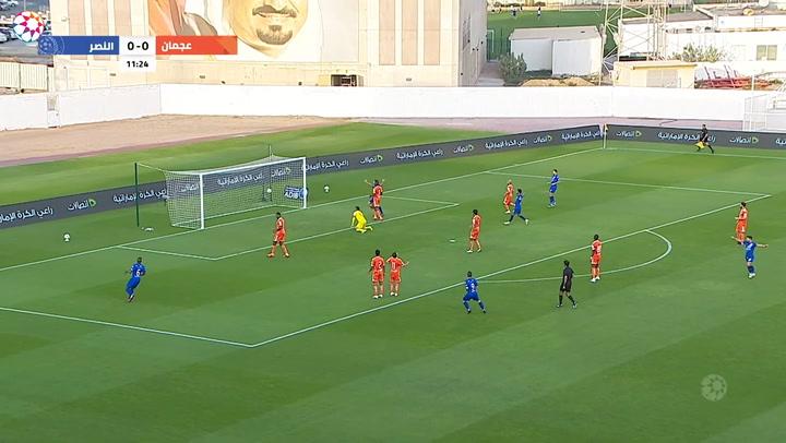 AGL Matchday 17 highlights: Ajman 0-3 Al-Nasr