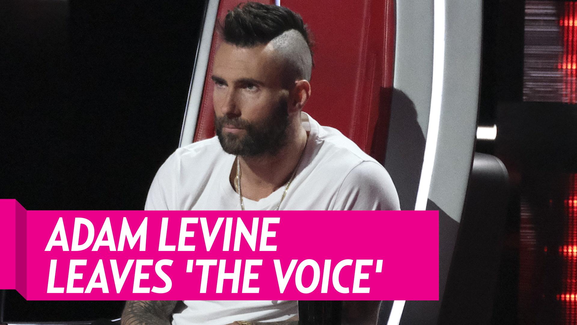 Adam Levine Exits 'The Voice' Ahead Of Season 17