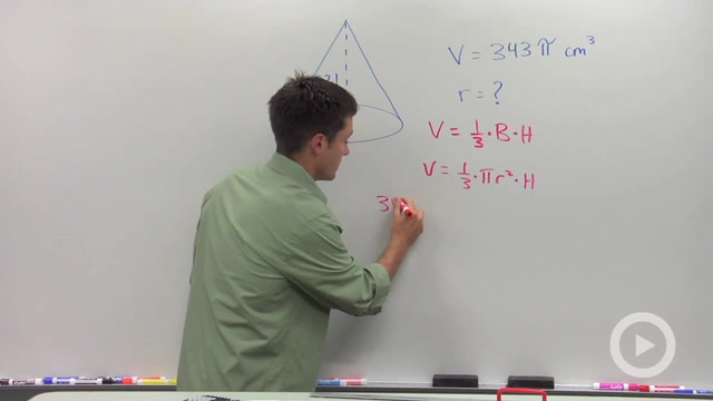 Volume of Cones - Problem 4