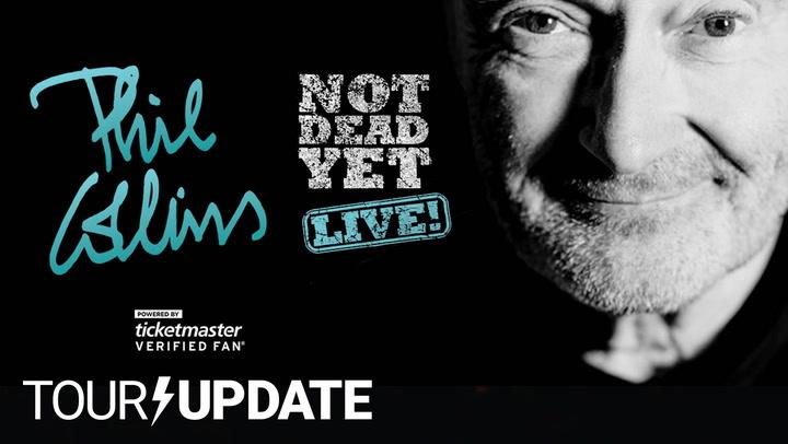 Phil Collins Announces His Not Dead Yet Tour Phil Collins