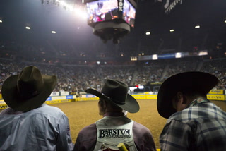 2017 National Finals Rodeo second go-round results