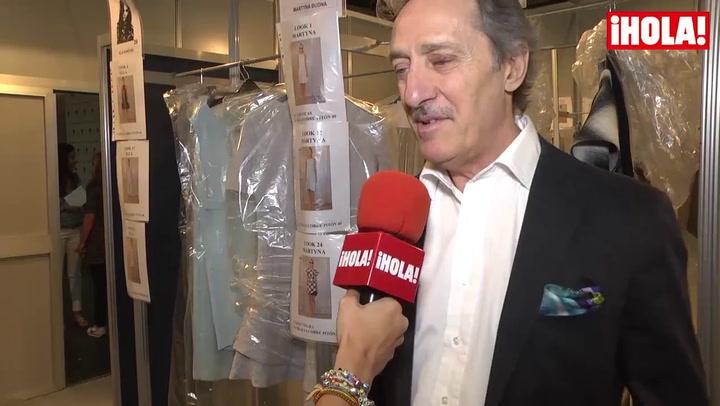Roberto Torretta: \'Hemos hecho una colección muy femenina, sofisticada, con el vestido como prenda principal\'