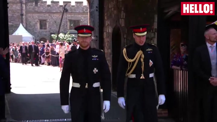Prince Harry Arrives At St George\'s Chapel To Marry Meghan Markle