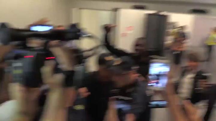Masivo recibimiento en Milán a Lukaku