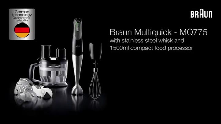 Preview image of Braun Multiquick 7 Hand Blender video