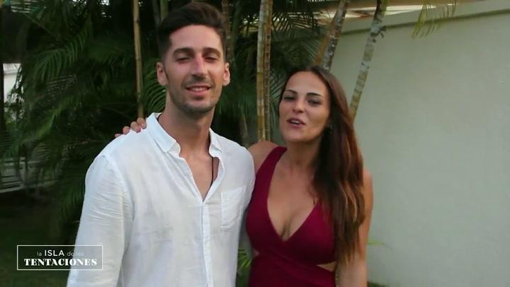 Ellos son Marta y Lester, pareja concursante en 'La Isla de las Tentaciones 2'