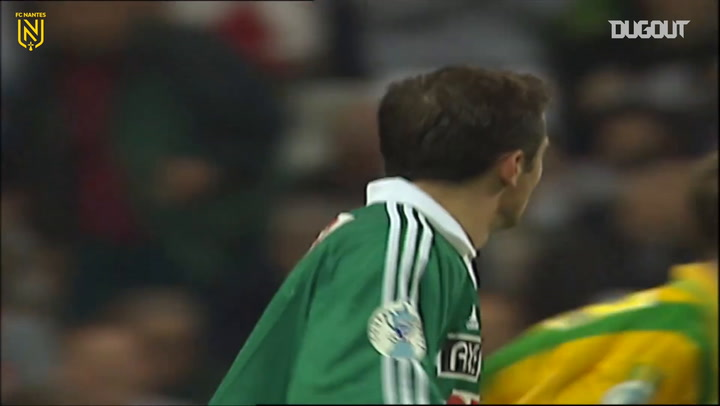 Nantes' victory in the 1999 French Cup final