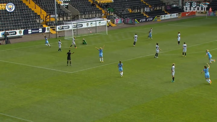 Man City Women romp to 5-1 win at Notts County