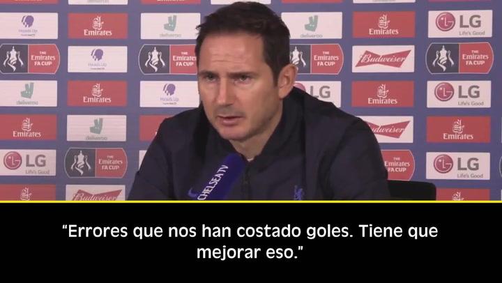 Lampard y sus palos a Kepa: