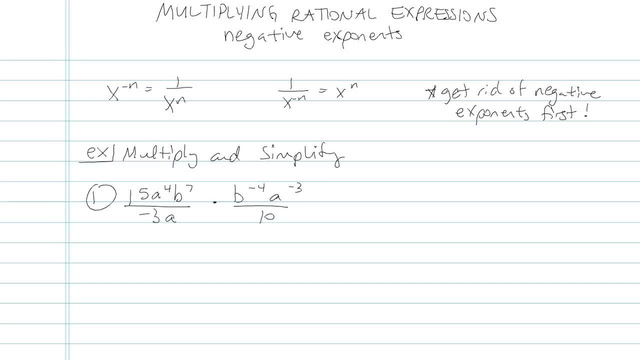 Multiplying and Dividing Rationals - Problem 7