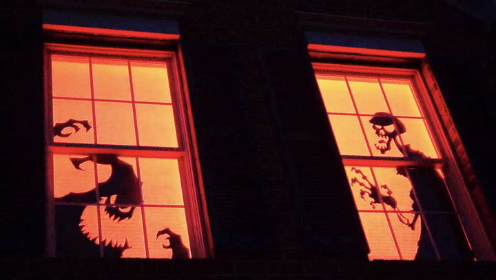 Trick Out Your Home for Halloween With These Scary Silhouettes