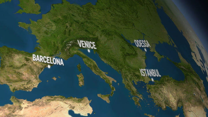 Animated map of Europe if all the ice melted Business Insider