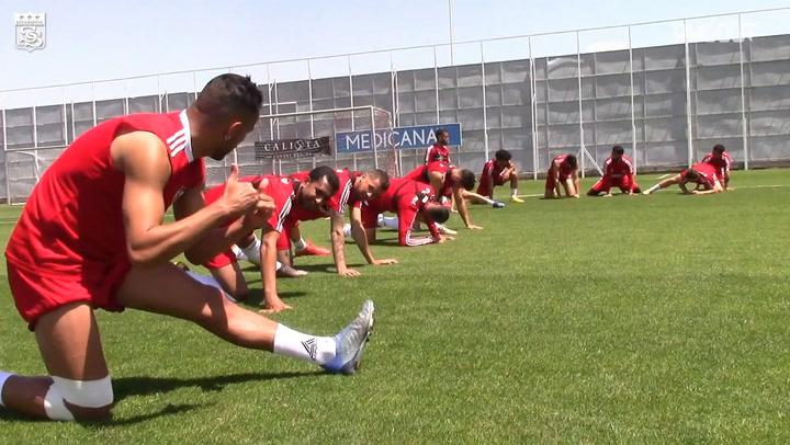 Sivasspor, Konyaspor Hazırlıklarına Başladı