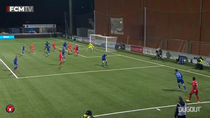 Awer Mabil's pinpoint cross for Midtjylland winner vs HB Koge