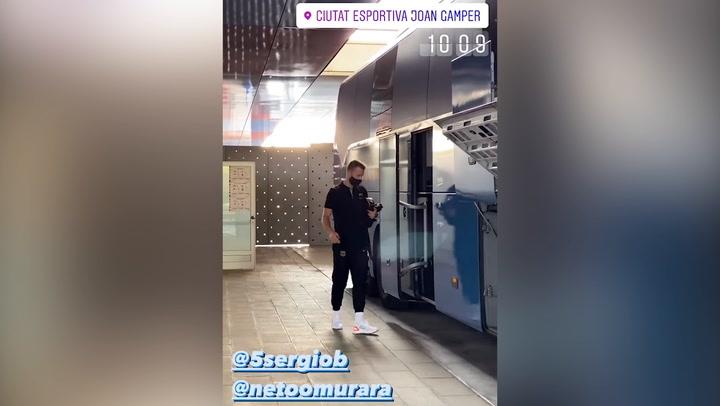 El Barça ya vuela hacia Vigo