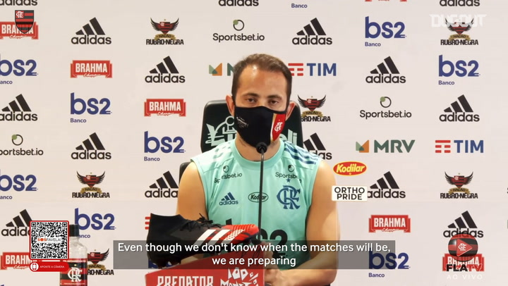 Everton Ribeiro talks about a possible return of football in Brazil