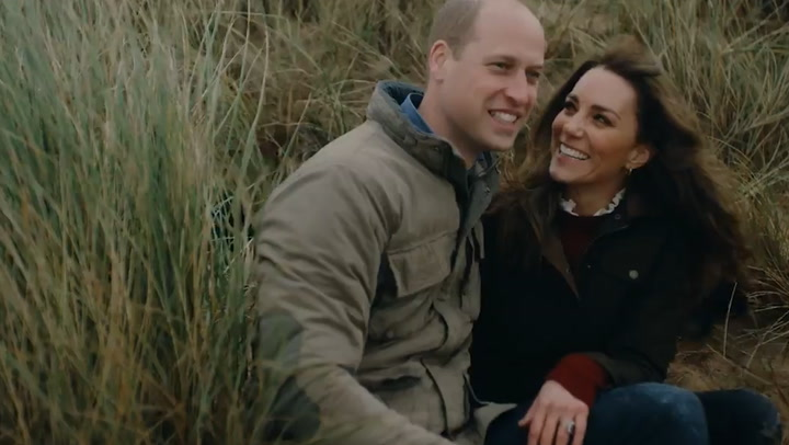 The Duke and Duchess of Cambridge release footage celebrating their 10th wedding anniversary